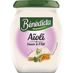 Bénédicta Bénédicta Sauce Aïoli le pot de 260 g