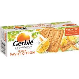 Gerblé Biscuit pavot citron