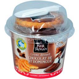 Ker Ronan Crème dessert chocolat de St Domingue le pot de 120 g