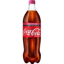 Soda au cola zéro sucres framboise