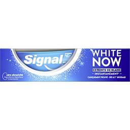 Signal Signal White Now Dentifrice blancheur original le tuble de 75ml