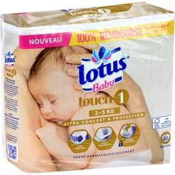 Couches Touch, taille 1 : 2-5 kg