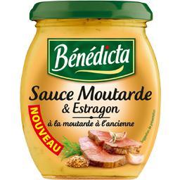 Sauce moutarde et estragon à la moutarde à l'ancienne