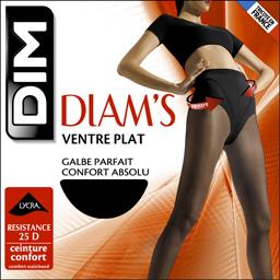Collant Diam's ventre plat T 2