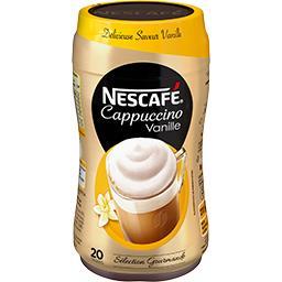 Nescafé Nescafé Cappuccino vanille soluble la boite de 310 g