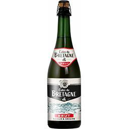 Cidre brut de Bretagne, saveur & origine