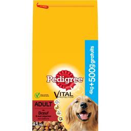Pedigree Pedigree Vital Protection - Croquettes Adult au bœuf pour chien le sac de 4,5 kg