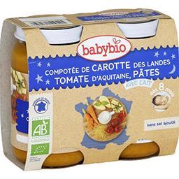 Bonne Nuit - Compotée carotte des Landes, tomate & p...