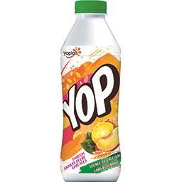 Yop - Yaourt à boire parfum ananas pêche céréales