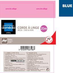 Utility - Corde à linge bleu 20 m