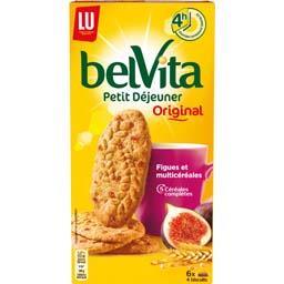 Belvita Petit Déjeuner - Biscuits fruits & fibres au...