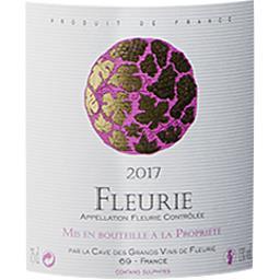 Fleurie Cave de Fleurie vin Rouge 2017