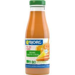Pur jus Vitalité orange carotte citron BIO