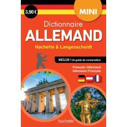 Mini dictionnaire Allemand hachette