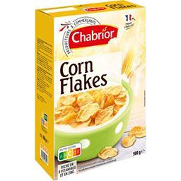 Chabrior Corn flakes la boite de 500 g
