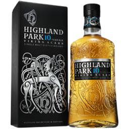 Scotch Highland Park Single malt Scotch Whisky la bouteille de 70 cl + l'étui