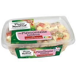 Pierre Martinet Pierre Martinet Ma Piémontaise jambon aux tomates fraîches la barquette de 500 g
