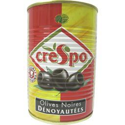 Olives noires confites dénoyautées