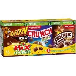 Céréales Mix fourrés 3 variétés