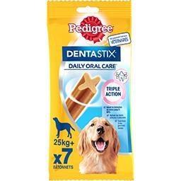 Pedigree Pedigree Dentastix - Sticks Daily Oral Care pour chiens 25 kg+ le sachet de 7 - 270 g