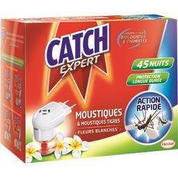 Catch Expert - Diffuseur électrique anti moustiques fleur ... le diffuseur + recharge 18 ml