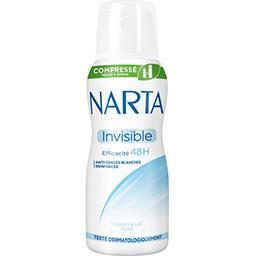 Narta Déodorant compressé Invisible 48 h Fraîcheur Pure