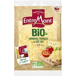 Entremont Entremont Emmental français au lait cru râpé BIO le sachet de 180 g