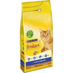 Croquettes pour chats stérilisés à la dinde et aux l...