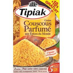 Graine couscous parfumé aux épices du monde