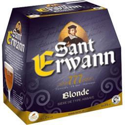 Bière de type abbaye blonde