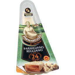 Parmigiano reggiano, 24 mois,PARMAREGGIO,la barquette de 180g