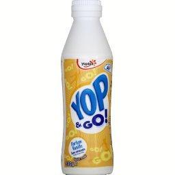 Yop & Go ! - Yaourt à boire sucré aromatisé vanille