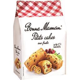 Bonne Maman Bonne Maman Petits cakes aux fruits le sachet de 10 - 300 g