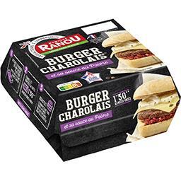 Burger Charolais sauce au poivre