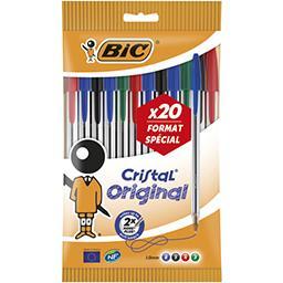 Bic Stylos bille cristal offre spéciale
