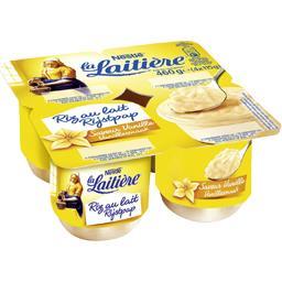 Nestlé La Laitière Riz au lait saveur vanille