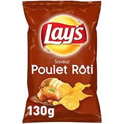 Lay's Lay's Chips saveur poulet rôti le paquet de 130 g