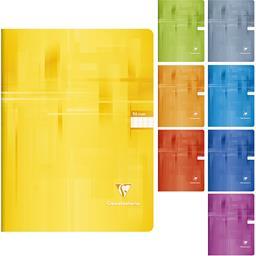 Clairefontaine Clairefontaine Cahier piqué 24x32, 96 pages grands carreaux Le cahier