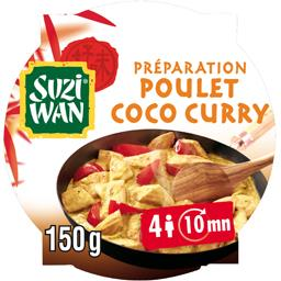 Préparation facile pour poulet coco curry