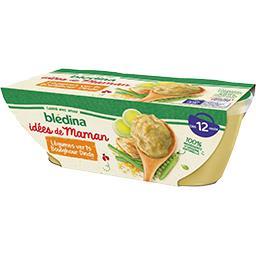 Les Idées de Maman - Légumes verts boulghour dinde, ...