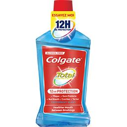 Colgate Total - Bain de bouche 12 h de protection Peppermint...