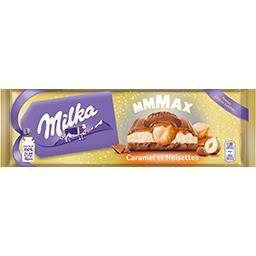 Milka Chocolat caramel et noisette