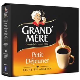 Grand'Mère Café moulu Petit Déjeuner les 2 paquets de 250 g