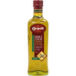 Huile d'olive vierge extra Vivace, fruitée, la bouteille de 0,CARAPELLI,la bouteille de 0,75 l