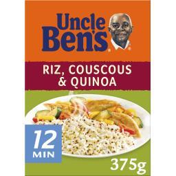 Mélange Riz blé quinoa rouge Uncle Ben's