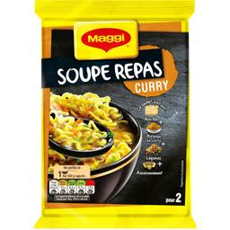 Soupe repas curry