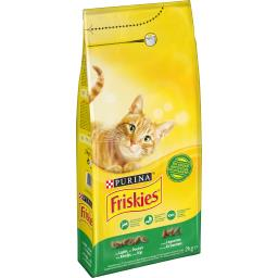 Friskies Friskies Croquettes lapin/poulet et aux légumes pour chats adultes le sac de 2 kg