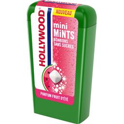 Hollywood Hollywood Bonbons Mini Mints sans sucres parfum fruit d'été la boite de 12,5 g