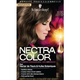 Nectra Color - Coloration châtain clair n°600