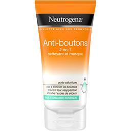Neutrogena Nettoyant et masque 2en1 Spot Proof Visibly Clear